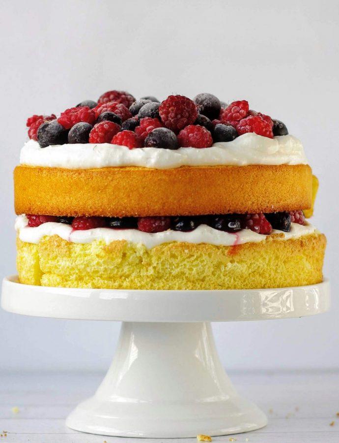 Задание 2. ПП торт Ягодный