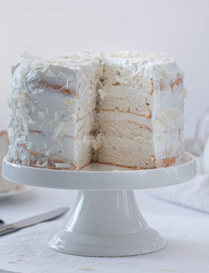 Задание 4. Белый кокосовый торт